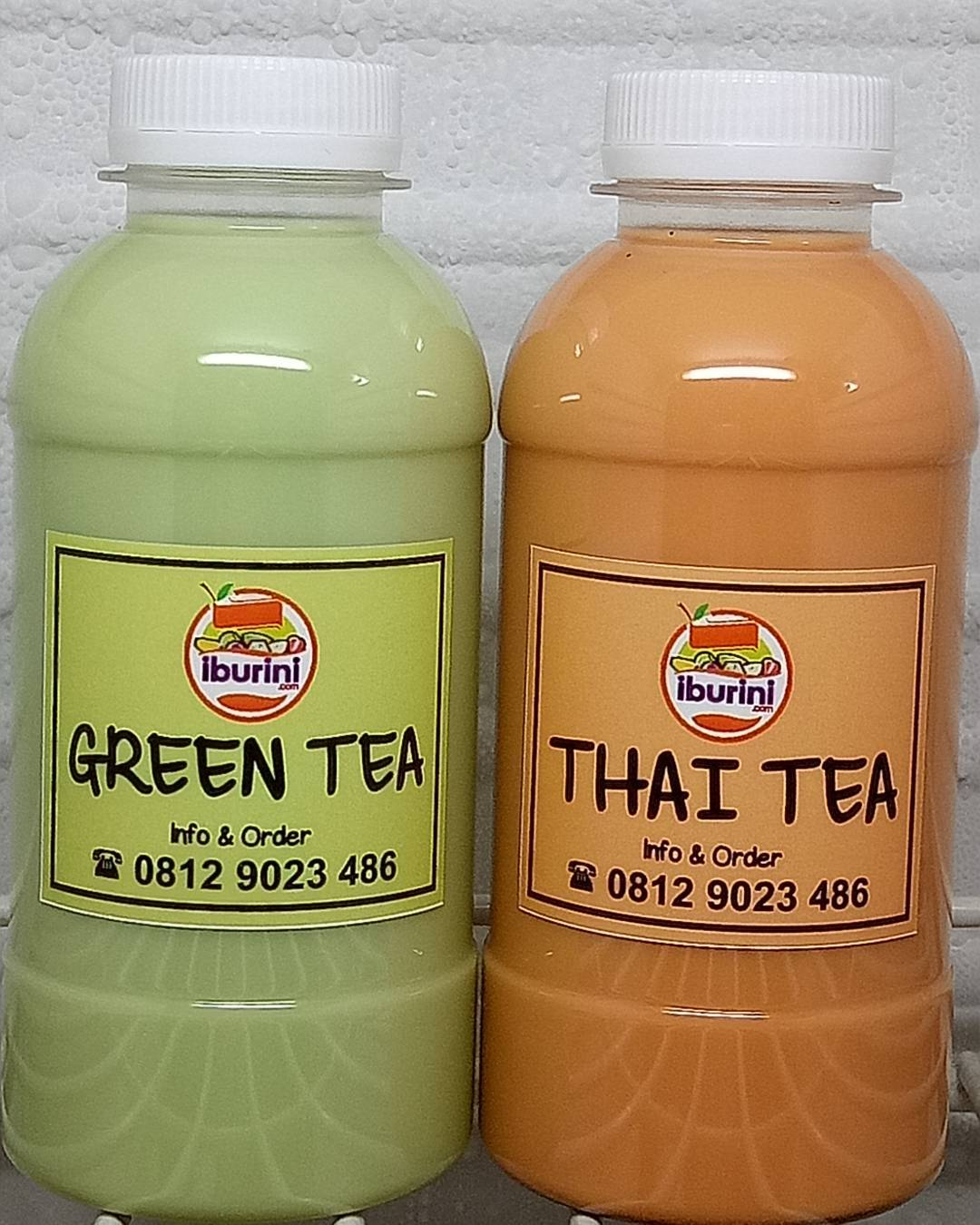 Supplier Thai Tea dan Green Tea di area Jakarta