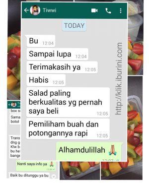 Testimoni Salad Buah